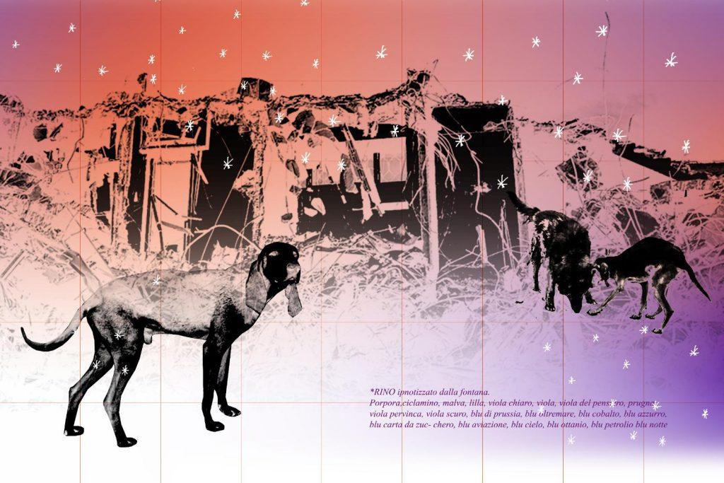 Cani di quartiere, pièce di Sonia Arienta, pubblicata da Animot, rivista curata da Gabi Scardi, N° X